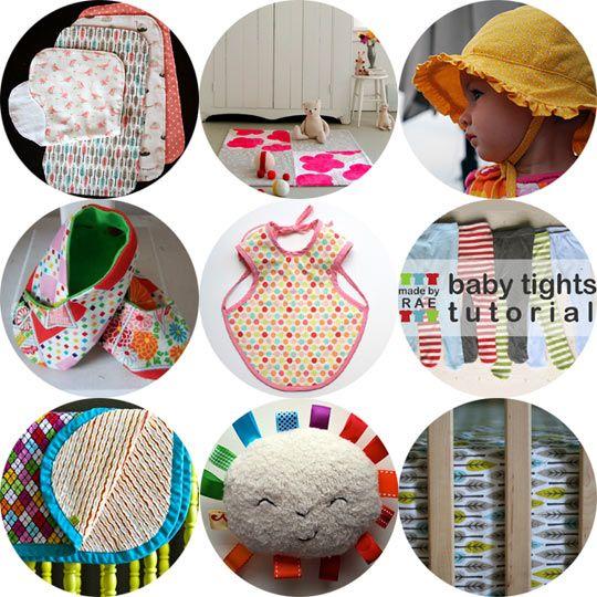 Sewing tutorial - baby stuff