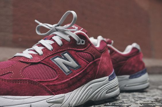 "New Balance M991 ""American Painters"" – Burgundy / Grey 