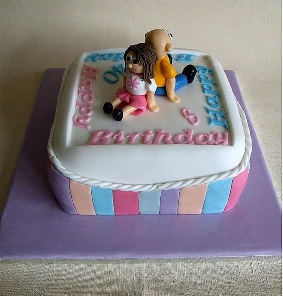 Birthday Cake Images Daughter : Joint birthday cake for father and daughter. Cakes ...