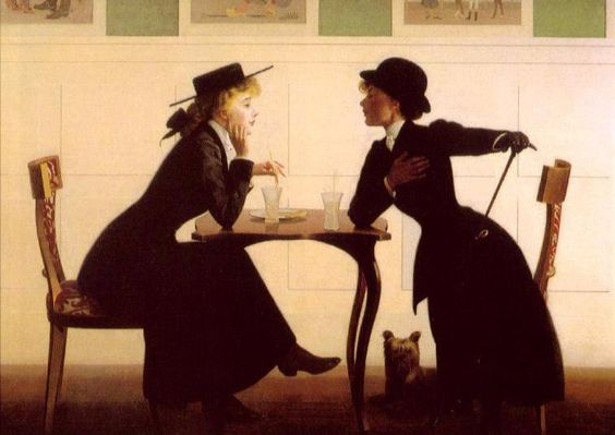 Harry Wilson Watrous. The discussion. 1900