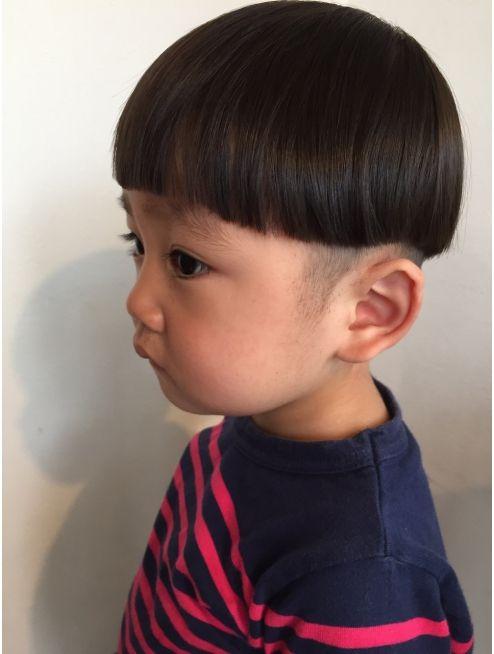 セブンルックス 7looks タラちゃん風ヘアー 男の子の髪 赤ちゃんの髪 ボーイズヘアカット