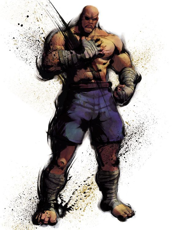 Sagat | Street Fighter IV