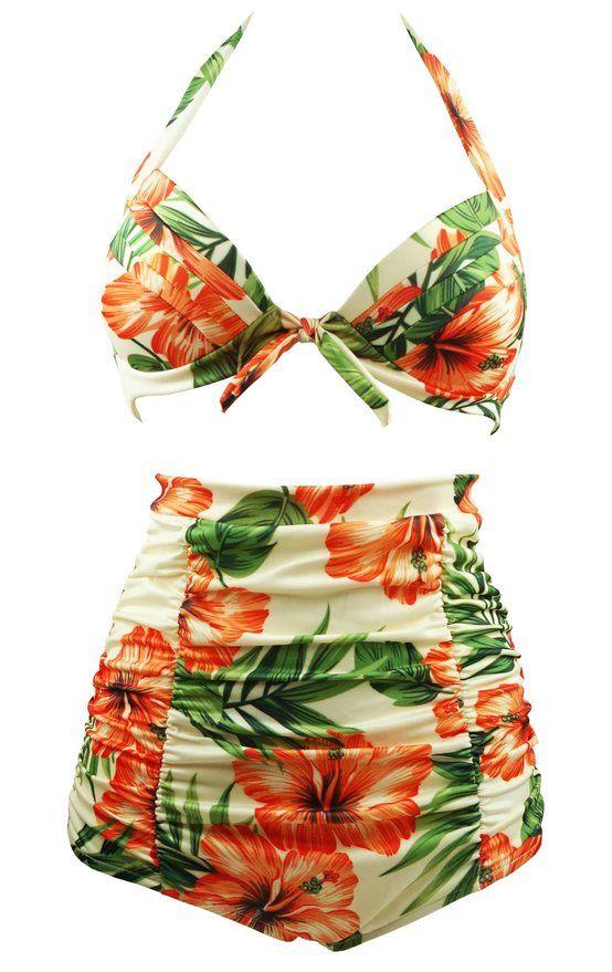 Cocoship Retro Peach Hibiscus & Beige Floral Halter High Waisted Bikini Bathing Suit Swimsuit XL https://www.amazon.com/Cocoship-Hibiscus-Waisted-Bathing-Swimsuit/dp/B01900BK86/ref=as_li_ss_tl?s=apparel&ie=UTF8&qid=1465685495&sr=1-29&nodeID=7141123011&keywords=plus+size+bathing+suits&linkCode=ll1&tag=herbcoloclea-20&linkId=d10f63bbd08c5534b50c4e0d78b42591