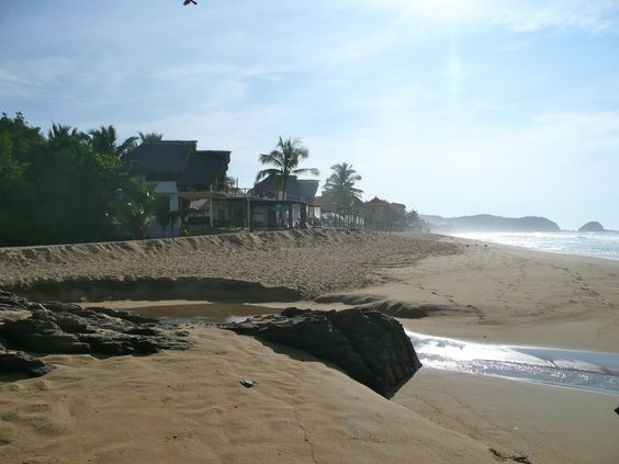 Zipolite Beach, Oaxaca, Mexico: