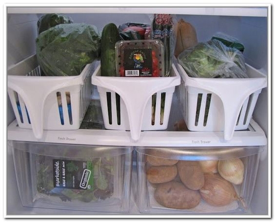 Vegetable Storage Containers Refrigerator Listitdallas