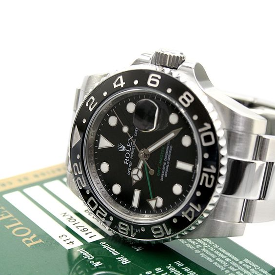Rolex Oyster Perpetual GMT-MASTER II 116710LN | Pre-owned Rolex Watch | Cashmax Jewelry #Luxurywatch #Cashmax