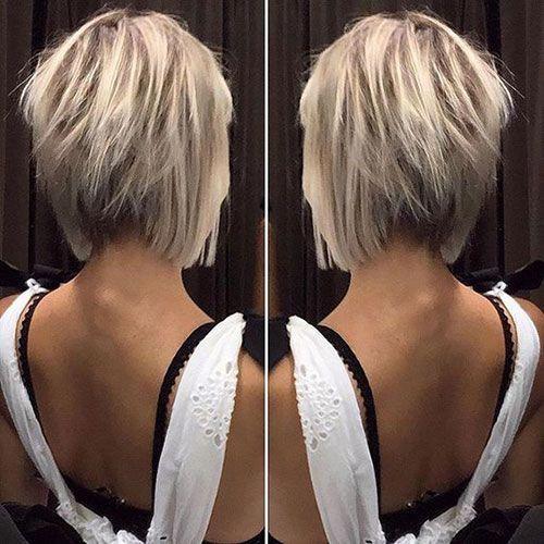 Inverted Bob Haircuts For All Women Bob Haircut And Hairstyle Ideas Short Hair Back View Short Hair Back Cool Short Hairstyles