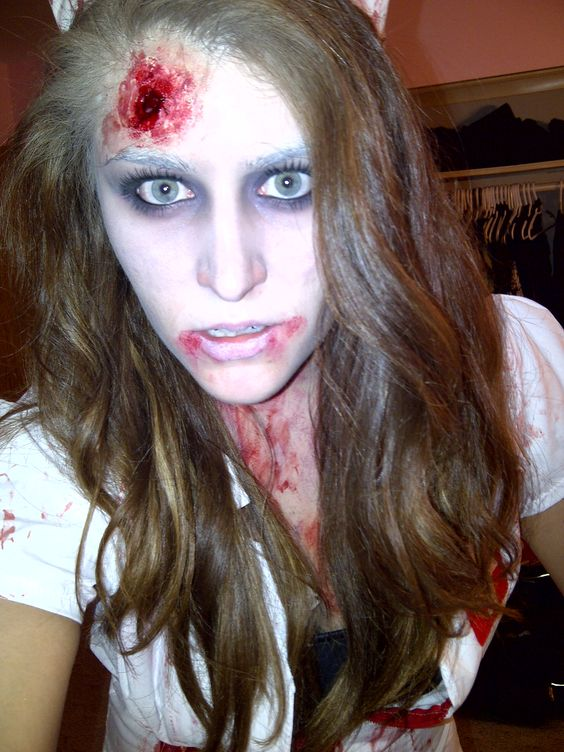 Nurse Zombie Makeup | Halloween | Pinterest | Zombie makeup ...