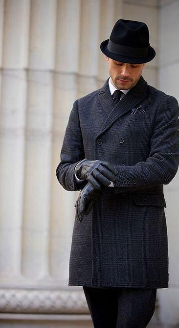 Sweeney 39 S Trilby Wool Mens Fall And Herringbone Coat