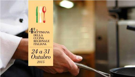 4ª Settimana della Cucina Regionale Italiana traz 20 renomados chefs italianos a 20 restaurantes da cidade de São Paulo. Se você gosta de gastronomia, não pode ficar de fora! #SettimanaItaliana #SãoPaulo #SaoPaulo #SP #Sampa #gastronomia #Italia #lifestyle