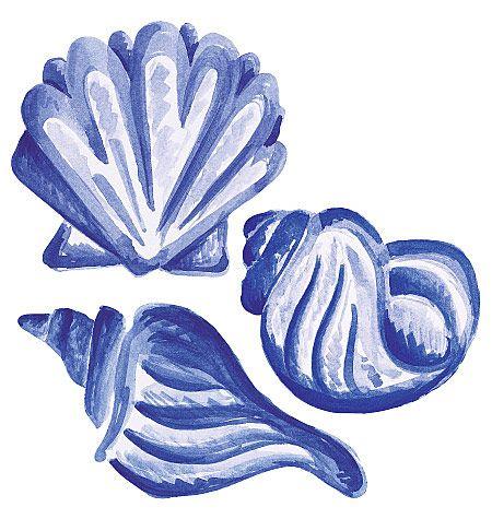 Blue shell clip art