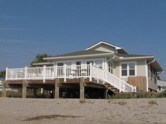 Edisto Realty - Sea Oats - Beautiful Beachfront Home - Edisto Island, SC