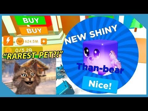 Roblox Pet Simulator Discord I Got A Full Team Of Shiny Thanos Pets Roblox Magnet Simulator Youtube Roblox Pets Simulation