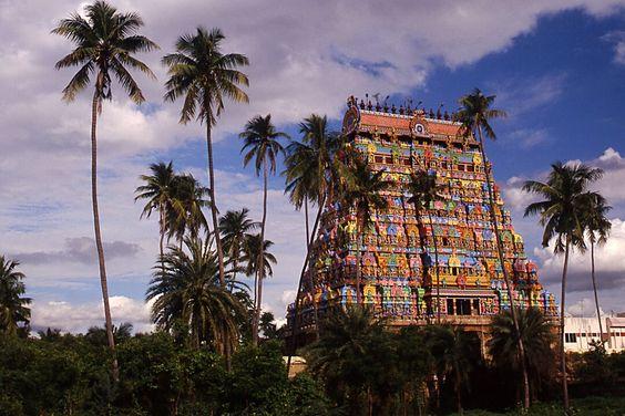 Temple à Tiruchirappalli