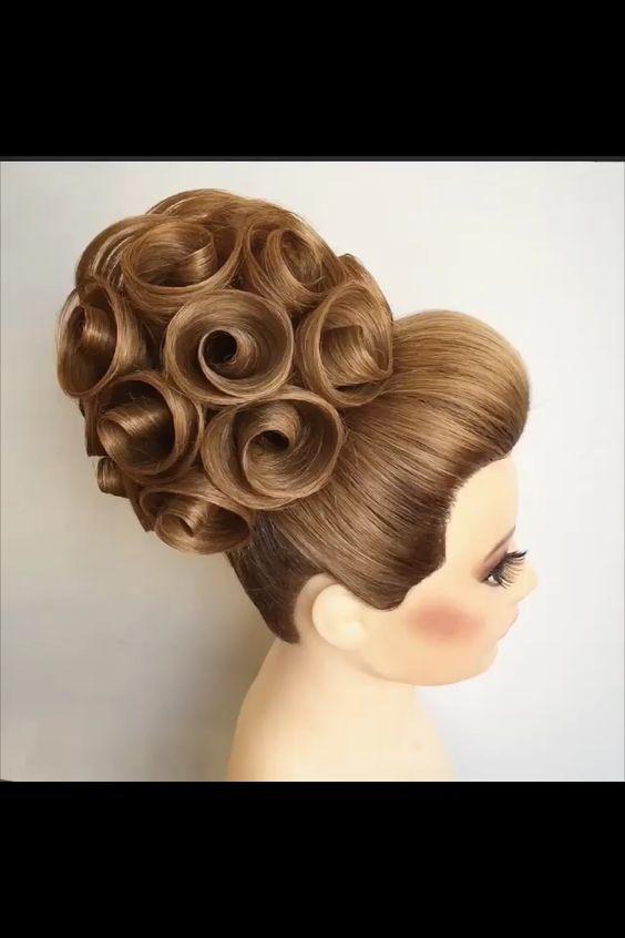 Georgiy Kot Hairstyle Rose Hair Gorgeous Intricate Perfect Hair Hair Styles Pinterest