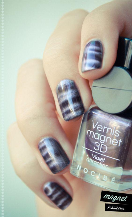 super amazing magnetic nail polish