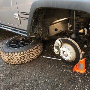 18インチのタイヤ 重いw Jeep ラングラー アンリミテッド タイヤ ラングラーアンリミテッド