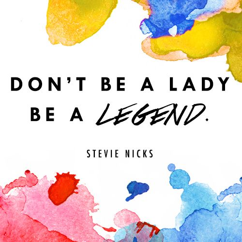 Stevie Nicks legend