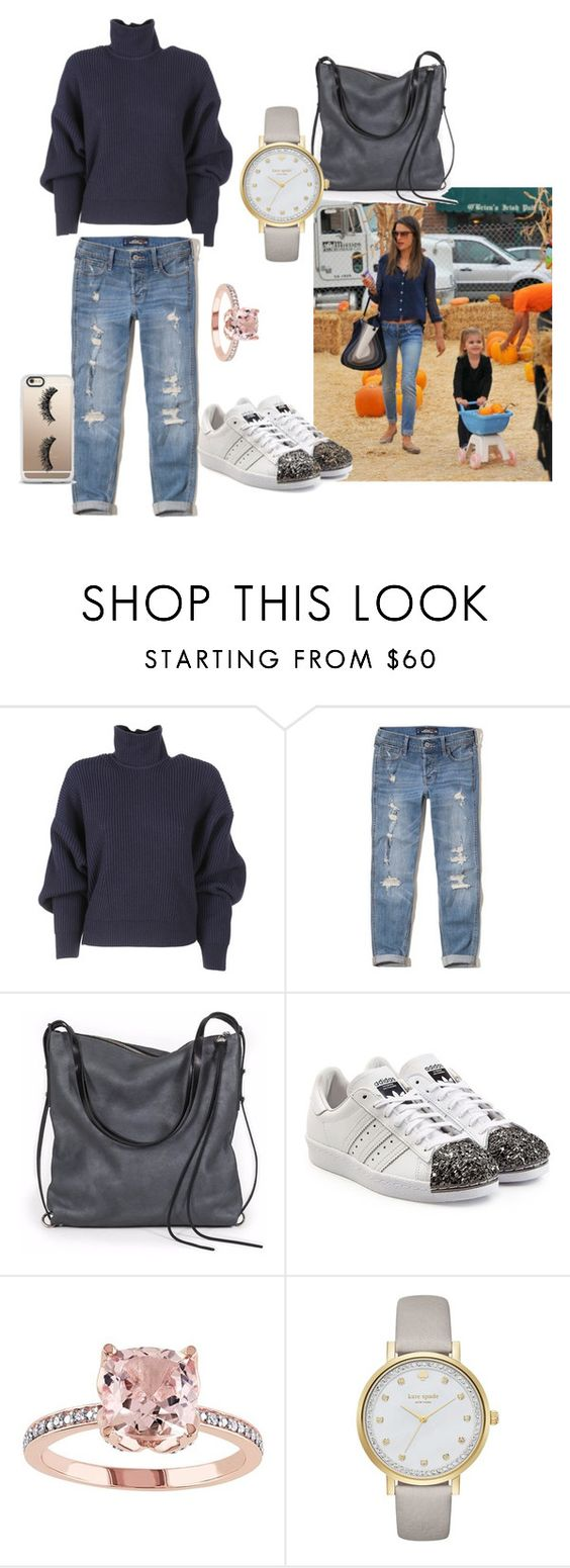 """""""Pumpkin Patch Fun"""" by hi-jess on Polyvore featuring Balenciaga, Hollister Co., Ina Kent, adidas Originals, Kate Spade and Casetify"""