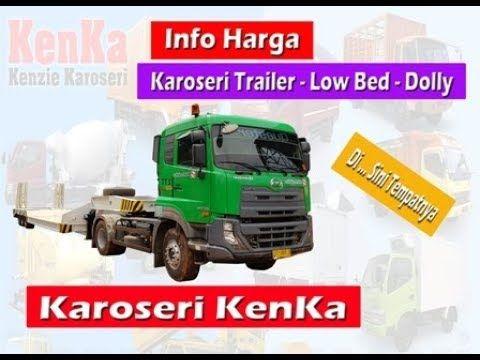 Harga Karoseri Trailer Rangka Flat Deck Lowbed Dolly Flat Deck Deck Trailer