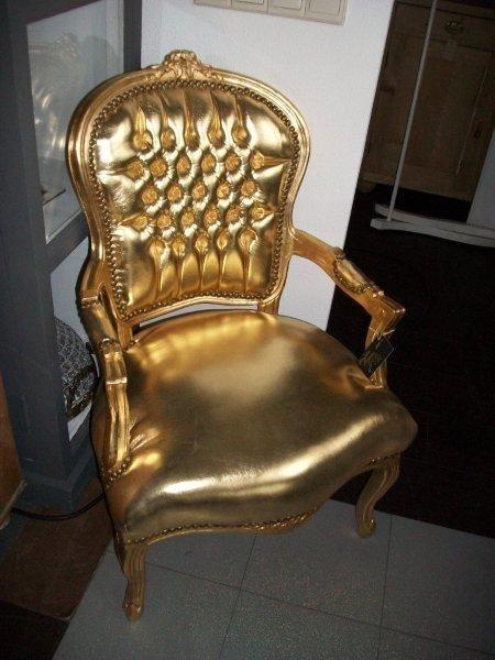 Gouden barok stoel oude barok stoelen en bankjes in een nieuw en oud jasje pinterest - Stoel dineren baroque ...