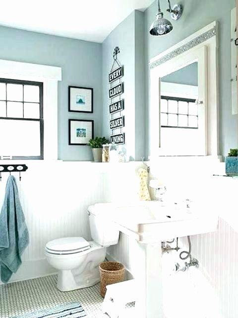 Gray Bathroom Ideas Interior Design Luxury Blue And White Bathroom Decorating Ideas Dark Navy Decor Di 2020 Modern Ikea Shabby