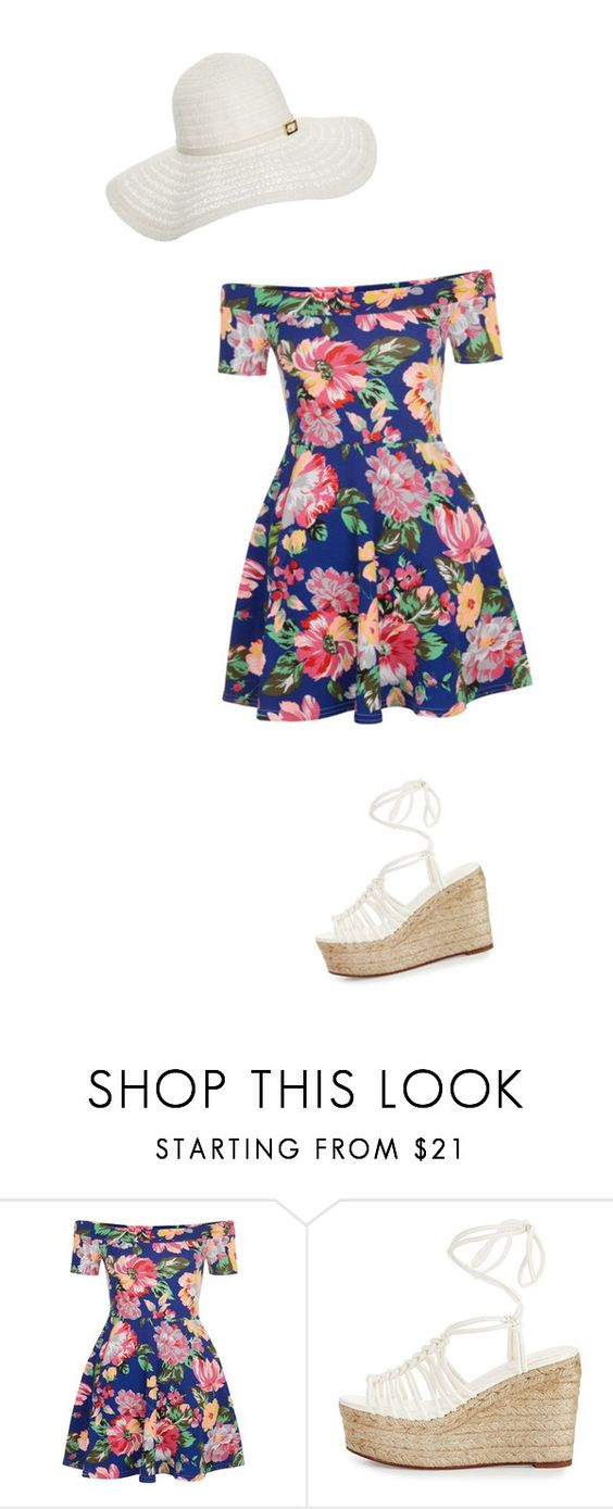 """""""summer beach"""" by audreysawesomeandalmost ❤ liked on Polyvore featuring New Look, Chloé and Melissa Odabash"""