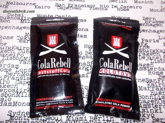 Cola Rebell - Feststoff Cola zum Lutschen