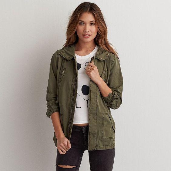 Light Green Jacket WNZSht