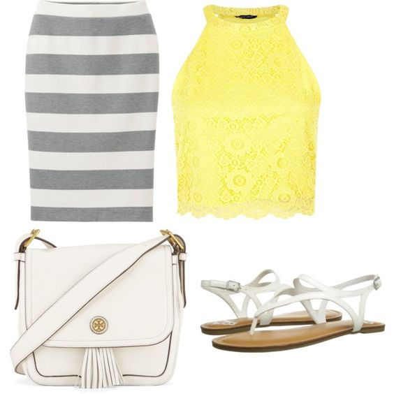 summer day outfit by katelynsearle on Polyvore featuring polyvore мода style Uniqlo Fergalicious Tory Burch