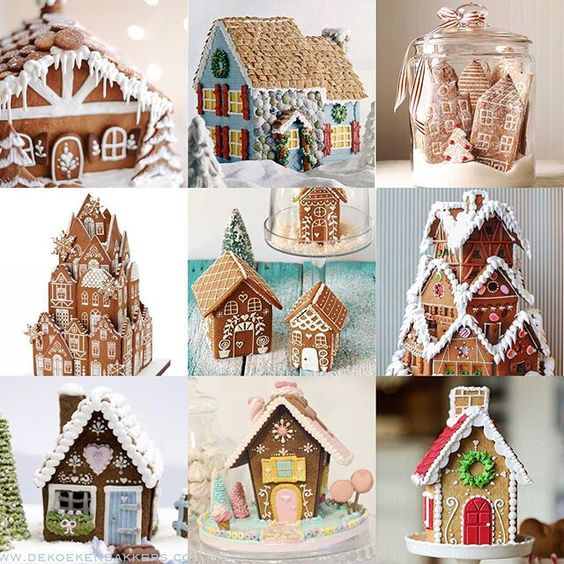 Bakeries inspiration and gingerbread houses on pinterest for Gingerbread house inspiration