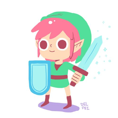 Video Game Character Illustrations Created by Delfina Perez...