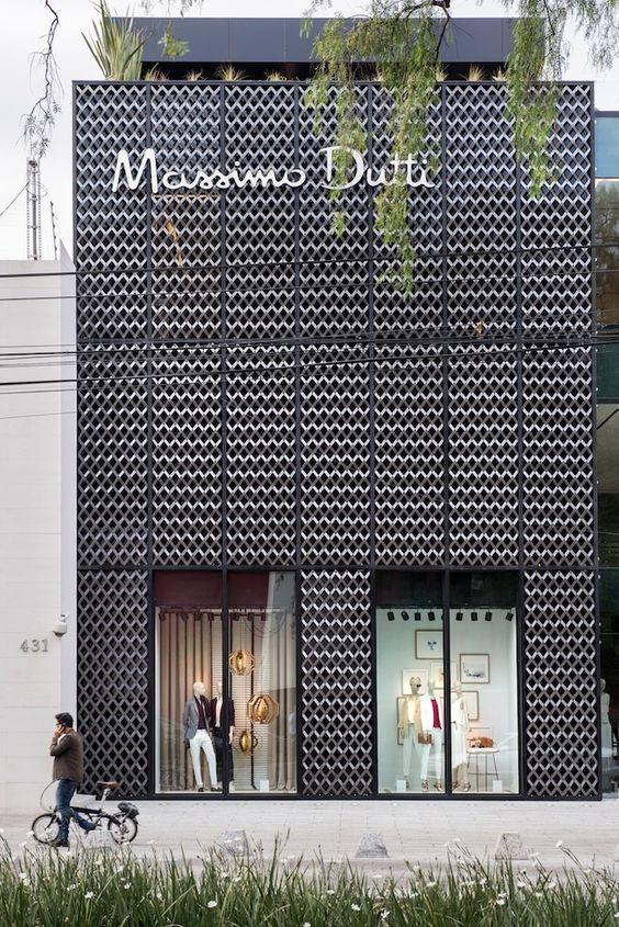 [Massimo Dutti / Sordo Madaleno Arquitectos | Mexico |#stores #Storefront]