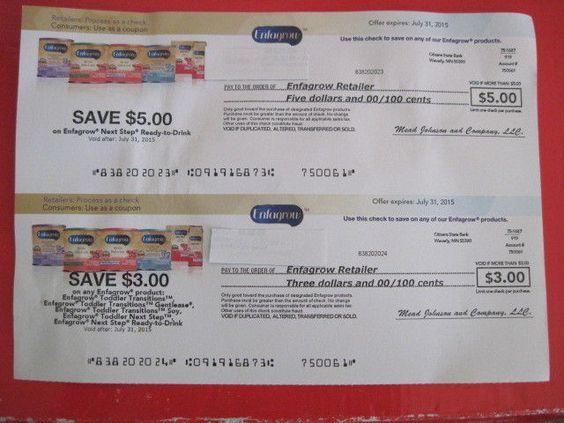 Enfagrow coupons