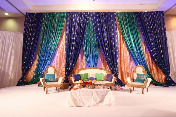 Mehndi Peacock Theme : Peacock theme grand reception pinterest receptions
