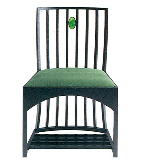 charles r mackintosh stuhl 1904 art nouveau pinterest chairs. Black Bedroom Furniture Sets. Home Design Ideas