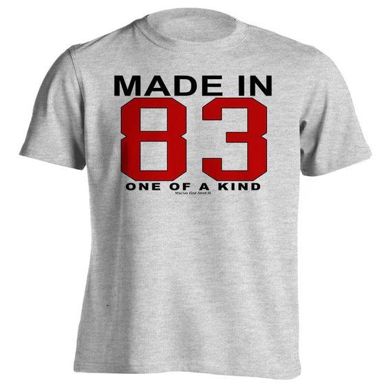 Mens 33rd Birthday T-Shirt