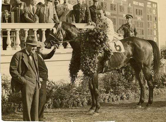 Johnstown- 1939 Winner of the Kentucky Derby and Belmont Stakes