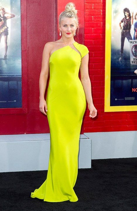 Julianne Hough Kaufmanfranco Dress at Rock of Ages Premiere