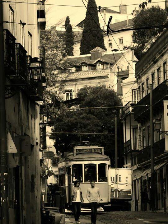 Lisboa, tranvia 28