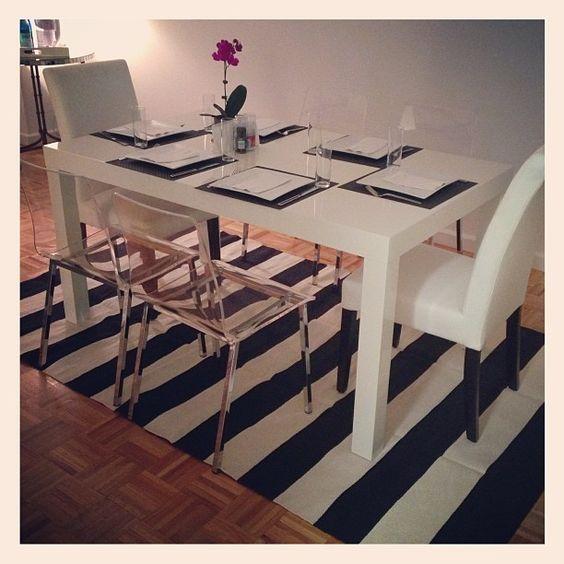 Finally a presentable dining table. I feel so grown up. #cb2 #westelm #crateandbarrel