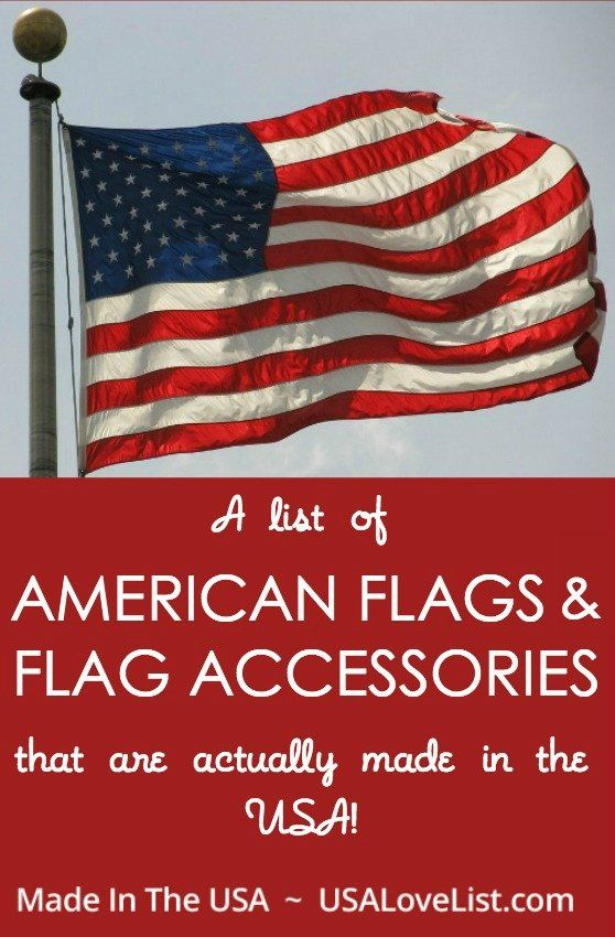 Made In Usa American Flags Flag Accessories American Flag Displaying The American Flag Flag Accessories