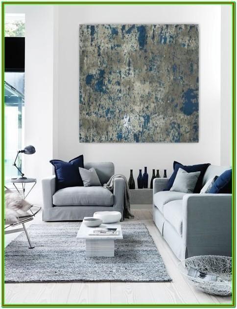 Contemporary Blue And White Living Room Ideas Minimalist Living Room Blue Living Room Home