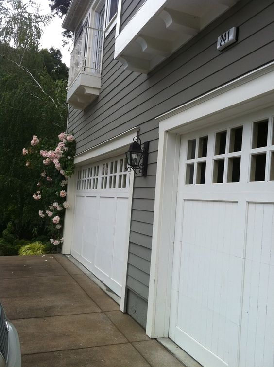 Nice Garage and Garage doors on Pinterest