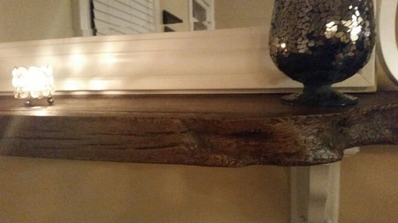 Barn wood mantle/shelf