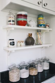 Kitchen Shelving - Gallery & Inspiration | Collection - 146 - Style Me Pretty