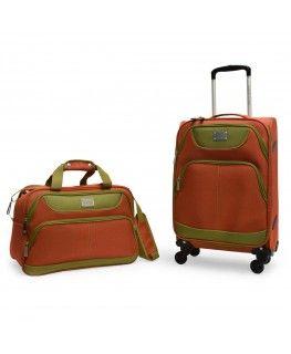 adrienne vittadini tribeca 2 piece luggage set