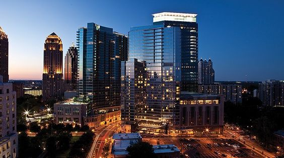 It's another beautiful evening at @loewsatlanta in #Atlanta. by forbestravelguide
