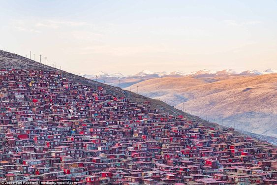 Tourist site: Although the school was founded in remote mountains, it has, in recent years, become an increasingly popular tourist site
