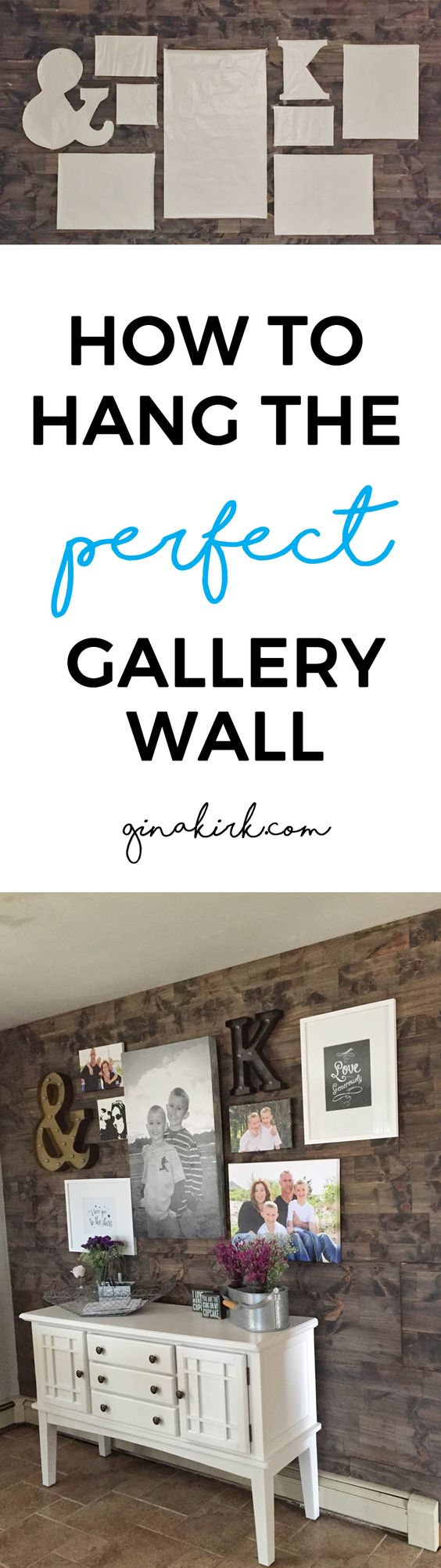 How To Hang A Gallery Wall Fixer Upper Kitchen Gallery And Barn Boards
